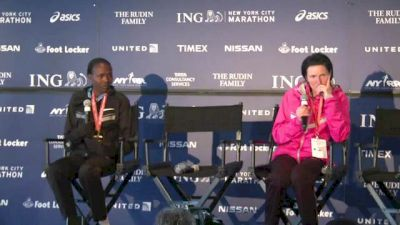 Priscah Jeptoo press conference