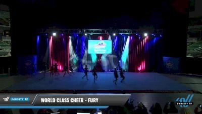 World Class Cheer - Fury [2021 L2 Junior - D2 - Small Day 2] 2021 The American Gateway DI & DII