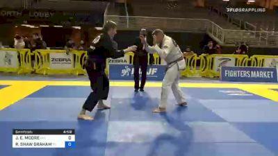 JEREMY E. MOORE vs ROBERT SHAW GRAHAM 2020 World Master IBJJF Jiu-Jitsu Championship