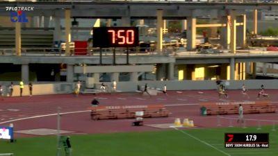 Boys' 300m Hurdles 5A , Finals 1