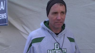 Mark Coogan where you nervous for Abbey's race at NCAA XC 2013?