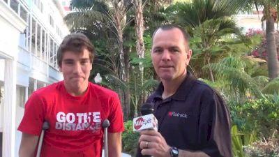 Jackson Bertoli braves tough injury to compete at 2013 Foot Locker Championships