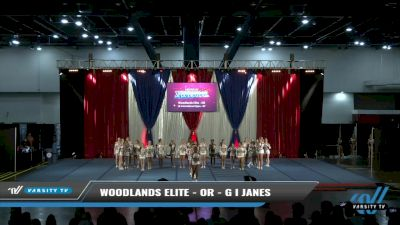 Woodlands Elite - OR - GI Janes [2021 L6 International Open - NT Day 2] 2021 The American Spectacular DI & DII