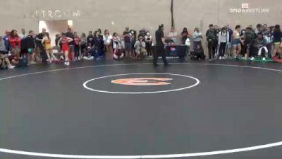 50 kg Semifinal - Aleeah Gould, CA vs Alleida Martinez, CA