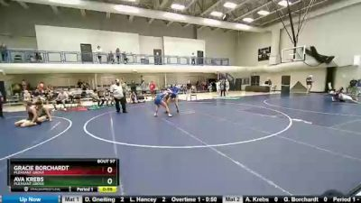 135 lbs Round 3 - Ava Krebs, Pleasant Grove vs Gracie Borchardt, Pleasant Grove