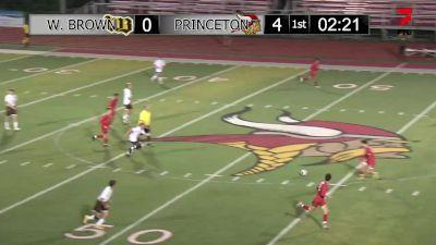 Replay: Princeton vs Western Brown | Sep 28 @ 7 PM
