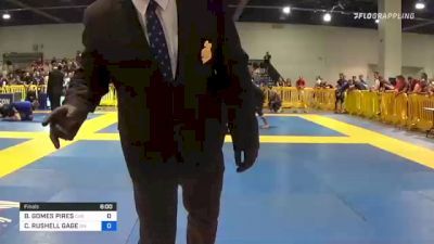 BÁRBARA GOMES PIRES vs CELESTE RUSHELL GAGE 2021 American National IBJJF Jiu-Jitsu Championship