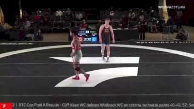 97 kg Rr Rnd 3 - Michael Macchiavello, Wolfpack RTC vs Hayden Zillmer, Gopher WC