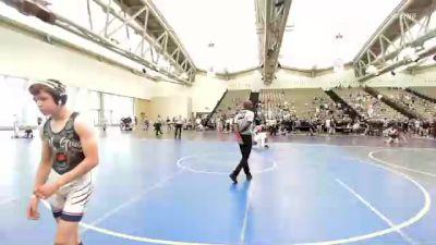 128 lbs Round Of 32 - Eric Lesak, Mac Arthur vs Lucas Gannotti, Wolf Gang Wrestling Academy