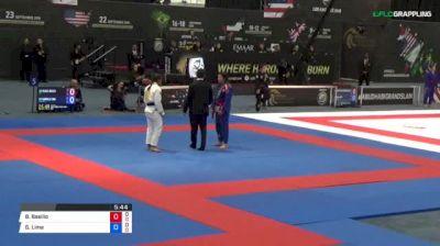 Bianca Basilio vs Gabrielle Lima 2018 Abu Dhabi Grand Slam Los Angeles
