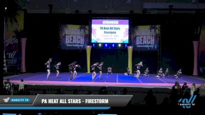 PA Heat All Stars - Firestorm [2021 L3 Junior - D2 - Small Day 2] 2021 ACDA: Reach The Beach Nationals
