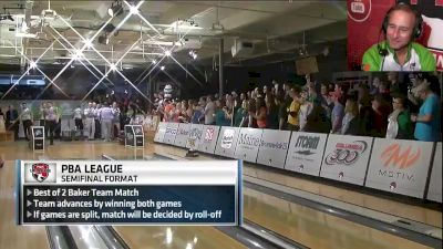 Player's Perspective - Norm Duke on Team 300 Game in 2016 PBA League Semifinals