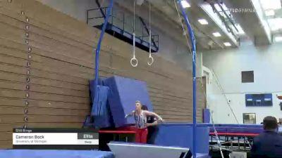 Cameron Bock - Still Rings, University of Michigan - 2021 Men's Olympic Team Prep Camp