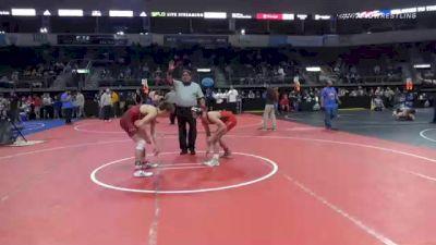 128 lbs Consolation - Hayden Rofkahr, Arkansas vs Alex Iberg, PINnacle