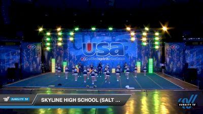 Skyline High School (Salt Lake City) [2020 Co-Ed Varsity Show Cheer Intermediate Day 1] 2020 USA Spirit Nationals