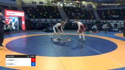 79 kg Quarterfinal - Jacob Logan, Lehigh Valley Wrestling Club vs Peyton Craft, Blair Wrestling Club