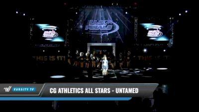 CG Athletics All Stars - UnTamed [2021 L4.2 Senior Coed Day 1] 2021 The U.S. Finals: Kansas City