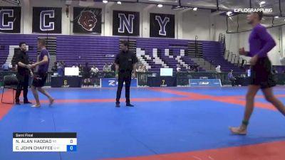 NATHAN ALAN HADDAD vs CAMERON JOHN CHAFFEE 2019 Pan IBJJF Jiu-Jitsu No-Gi Championship