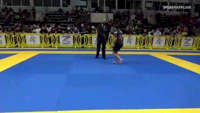 JENNIFFER CAROLINA PRECIADO vs SARAH ALEXANDRA WILSON 2021 Pan IBJJF Jiu-Jitsu No-Gi Championship