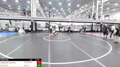 182 lbs 3rd Place - Alexander Uryniak, Yale Street Wrestling Club vs Ian Bush, Quest