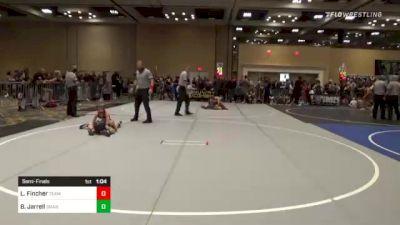 66 lbs Semifinal - Lucas Fincher, Team Xtreme vs Brody Jarrell, Granite WC