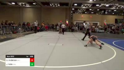 82 lbs Round Of 16 - Uriah Anderson, Delta WC vs JaKobe Valle, Idaho Gold WC