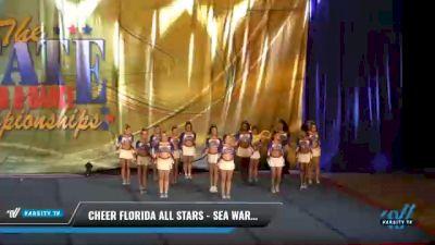 Cheer Florida All Stars - Sea Warriors [2021 L6 Senior - XSmall Day 2] 2021 The STATE DI & DII Championships