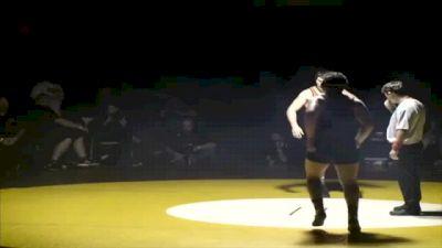 220 lbs finals Jeramy Sweany Vacaville vs. Miracle Tausaga MM