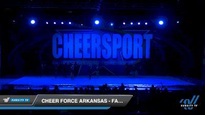 Cheer Force Arkansas - Falcons [2020 Senior XSmall Coed 6 Division B Day 1] 2020 CHEERSPORT National Cheerleading Championship