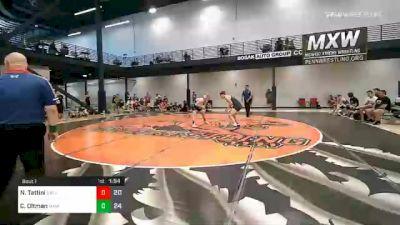 165 lbs Prelims - Nicholas Tattini, Elite Athletic Club vs Caden Oltman, Midwest Xtreme Wrestling