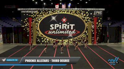 Phoenix Allstars - Third Degree [2021 L3 Junior - Small] 2021 PA Championship