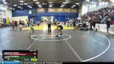 138 lbs Champ. Round 2 - Enrique Sanchez, Maximum Performance/Doral Acad vs Misha Arbos, Gladiator