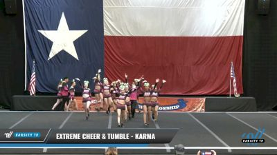 Extreme Cheer & Tumble - Karma [2021 L4 Senior Coed Day 2] 2021 ACP Power Dance Nationals & TX State Championship
