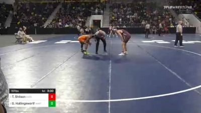 157 lbs Semifinal - Tyler Shilson, Augsburg University vs David Hollingsworth, Wartburg College