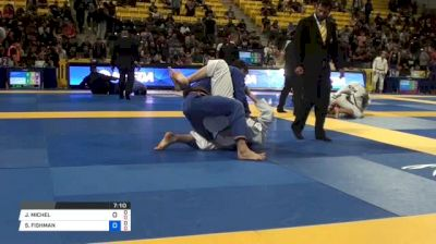 JAKE MICHEL vs SHANE FISHMAN 2018 World IBJJF Jiu-Jitsu Championship