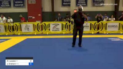 Melissa Lozano vs Jamie Graham 2020 Houston International Open IBJJF Jiu-Jitsu Championship