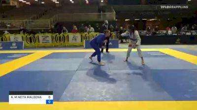 ADRIANA M NEITA MALDONADO vs ANDREA KOSZA 2020 World Master IBJJF Jiu-Jitsu Championship