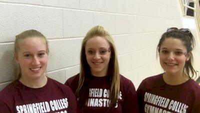 Springfield's Lauren Pocius, Nicole Silva & Jenna Croteau