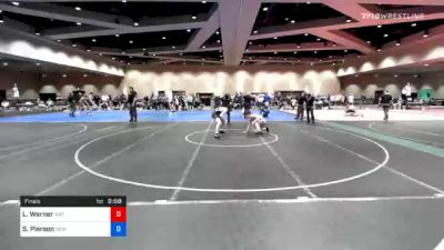 57 kg Final - Luke Werner, Mat Town USA vs Sean Pierson, New Jersey RTC