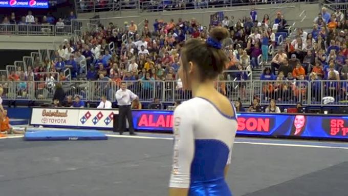 Florida, Alaina Johnson - 9 925 FX vs Arkansas