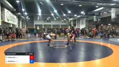 74 kg Consolation - Cael Valencia, California vs Joseph Roberts, Wolfpack Wrestling Club
