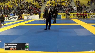Gordon Ryan vs Jacob Ferrara 2015 IBJJF No-Gi Worlds