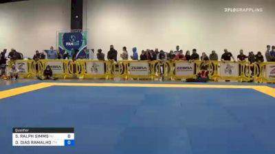 JORDAN WAYNE-EMERSON MORE vs JOSHUA AARON BACALLAO 2020 IBJJF Pan No-Gi Championship
