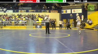 Joey LaVallee (Mizzou) vs. Tristan Warner (Old Dominion)