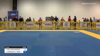 TADIYAH WILLIAM DANFORTH vs JORDAN VAISMAN N. TEODOSIO SILVA 2020 Atlanta International Open IBJJF Jiu-Jitsu Championship