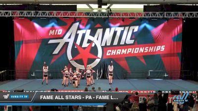 FAME All Stars - PA - Fame Lady Legion [2020 L4.2 Senior - Small Day 1] 2020 Mid-Atlantic Championships