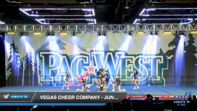 Vegas Cheer Company - Junior Black [2020 L3 Junior - D2 - Small - A Day 2] 2020 PacWest