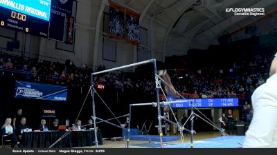 Trinity Thomas - Bars, Florida - 2019 NCAA Gymnastics Regional Championships - Oregon State