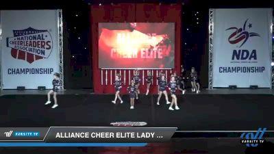 - Alliance Cheer Elite LADY LEGION [2019 Junior - Small 2 Day 1] 2019 NCA North Texas Classic