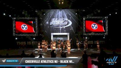 CheerVille Athletics MJ - Black Widows [2021 L1 Youth - Medium Day 1] 2021 The U.S. Finals: Louisville